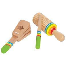 E0301 Set Di Percussioni Per Bambini