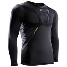 T-shirt Portiere Bodyshield 3/4 Gk Nero Xl