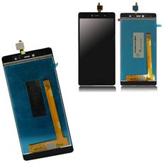 Ricambio Lcd Touch Screen Vetro Vetrino Con Flex Cable Nero Per Wiko Fever Special 4g + Kit Attrezzi Smontaggio