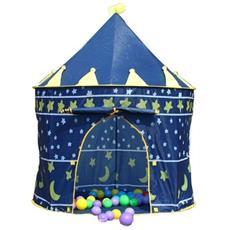 Tenda Per Bambini - Palazzo Principesco - Col. Blu