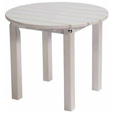 Tavolino Da Caffè Dolomiti Bianco - Legno