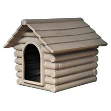 Cuccia per cani ricovero per animali da giardino per esterno 86x106x78 cm