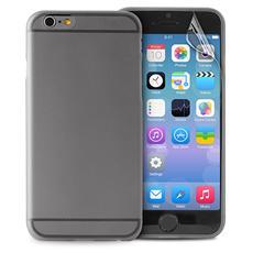 Cover Ultra Slim per iPhone 6 - Nero Semitrasparente