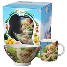Set Scodelle Mug Disney Fairies Prima Colazione