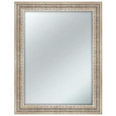 Specchio Da Parete Mirror Caravaggio 63x83 Cm Silver