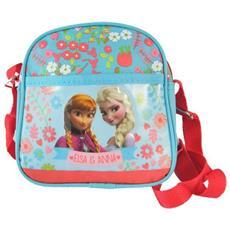 Borsa Borsetta Piccola 15 X 14 Cm Scuola Tempo Libero Disney Frozen
