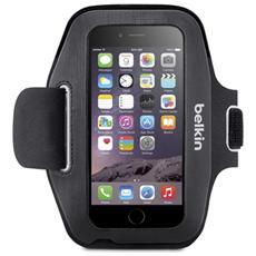 Fascia da braccio Sport-Fit per iPhone 6 / 6S - Nero
