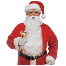 Barba Babbo Natale Lusso Con Sopracciglia