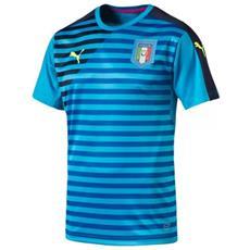 Maglia Italia Pre-match 2016 L Azzurro Blu