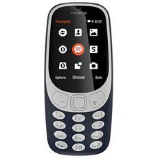 """3310 Blu Display 2.4"""" +Slot MicroSD con Bluetooth RadioFM e Fotocamera 2Mpx - Italia"""