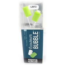 cuffia 'bubble' verde (essere mix) - [ l8972]