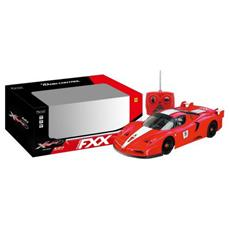 Ferrari Fxx - Scala 1:10 - Radiocomandata - Rossa Con Striscia Bianca
