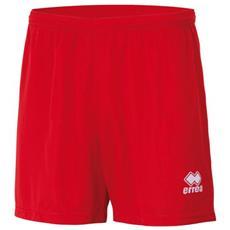 Panta New Skin Adulto Rosso Short Allenamento Taglia S