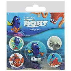Finding Dory (pin Badge Pack)