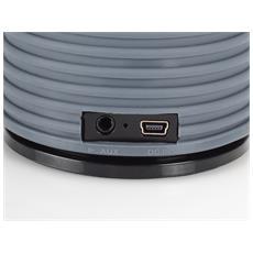Bluetooth, 3W, 4h, USB, Li-ion, 270g