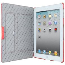 "APNIPALCJT2RDCF 9.7"" Custodia a libro Rosso compatibile Apple iPad 2"