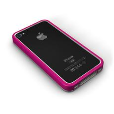 Mac bumper - Bordo in leggero alluminio per iPhone4/4S- Rosa