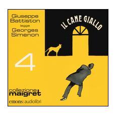 Il cane giallo letto da Giuseppe Battiston. Audiolibro. CD Audio formato MP3