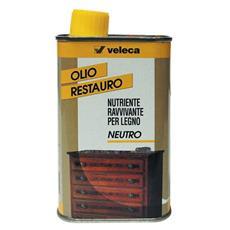 Olio Restauro per Legno, Mobili Veleca art. 337 colore Neutro 250 ml