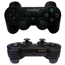 Joystick Joypad Wireless Senza Filo Compatibile Ps3 Per Playstation 3 Controller Nero