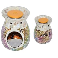 Bruciatore perlato mosaico per cialde di cera Florever Fragrance