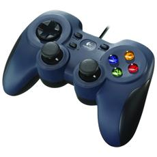 Gamepad F310 per PC Blu / Nero