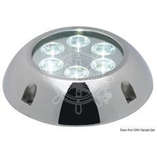 Faro Subacqueo 6 LED Bianchi