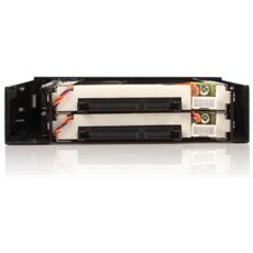"""Hot Swap Pannello Cassetto Estraibile Per 2x Hdd 2,5"""" Sata, Sata Hdd Mobile Rack"""