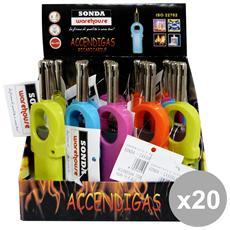 Set 20 Accendifiamma Mini Casre4591 Accessori Per La Casa