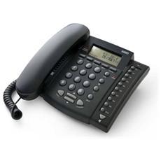 Telefono Multifunzione con Vivavoce e identificatore Chiamante colore Nero RICONDIZIONATO