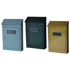 Cassetta Postale 'ct' - Cm 18 X 5 X H 31 Verde