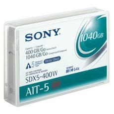 AIT-5 WORM 1040GB, AIT, 5 - 45 °C, 20 - 80%, 5 - 32 °C, 20 - 80%, 95 x 15 x 62,5 mm