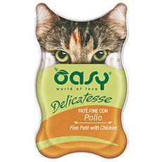 Cibo per gatti Wet Cat Delicatesse - Paté con Pollo 85 gr