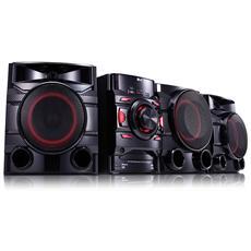 Sistema Mini Hi-Fi CM4560 Potenza Totale 700W Lettore CD Supporto MP3 / WMA Bluetooth USB
