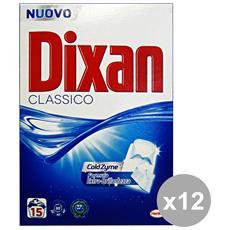 Set 12 Lavatrice Polvere 15 Mis. Classico Detergenti Casa