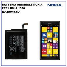 Batteria Originale Per Nokia Lumia 1520 Bv-4bw Bv4bw Batteria 3500mah