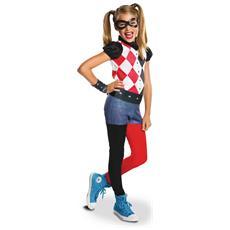 Travestimento Harley Quinn Da Bambina 8 A 10 Anni