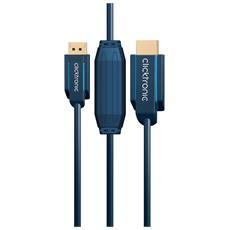 """DisplayPort / HDMI 20 m, 20m, HDMI, DisplayPort, 9,5 mm (0.374"""") , Box"""