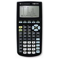 Calcolatrice Grafica TI 82 Stats Colore Nero