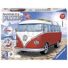 Puzzle 3d Pullmino Volkswagen 12516
