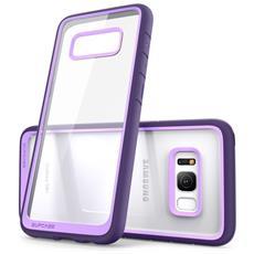 Cover per Galaxy S8 Plus Colore Trasparente (Viola)