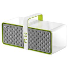 BT03 Speaker Audio Portatile Bluetooth Microfono Integrato colore Bianco