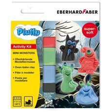 Kit Creativo Pluffy Mini Monster