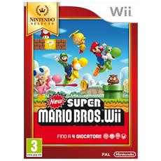 WII - New Super Mario Bros Wii Selects