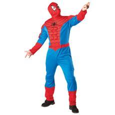 costume spiderman con pettorali xl
