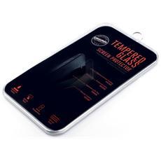Pellicola In Vetro Temperato Fronte-retro Per Iphone 6+ Antigraffio Qualità Platinum 0,33 Mm