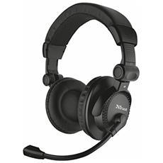 Como cuffie over-ear con struttura ripiegabile e microfono regolabile