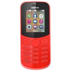 "130 Dual Sim Rosso Display 1.8"" + Slot MicroSD Bluetooth Fotocamera 1.3 Mpx - Italia"