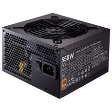 Alimentatore Serie MWE 550 Watt Cablato ATX Certificazione 80 Plus Bronze RICONDIZIONATO