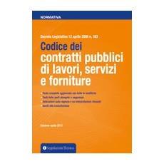 Codice dei contratti pubblici di lavori, servizi e forniture